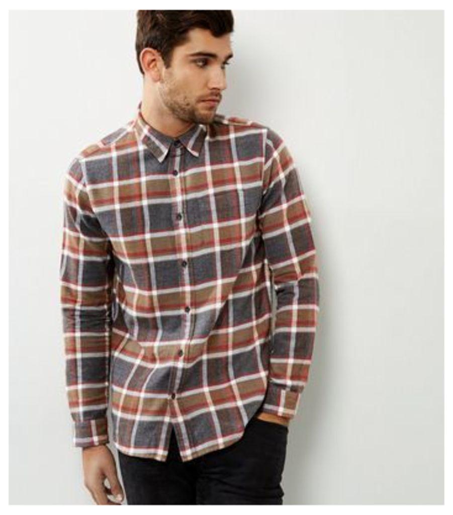 Stone Check Long Sleeve Shirt