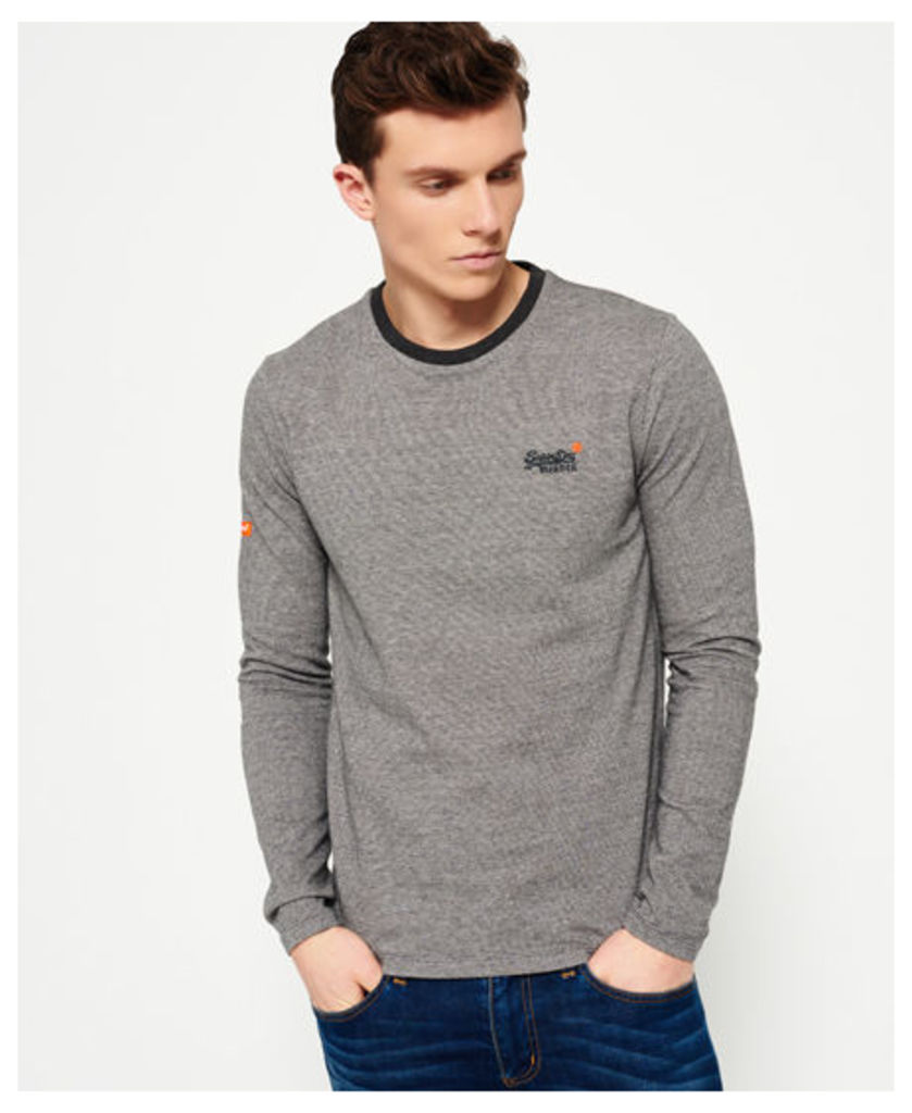 Superdry Orange Label Textured T-shirt
