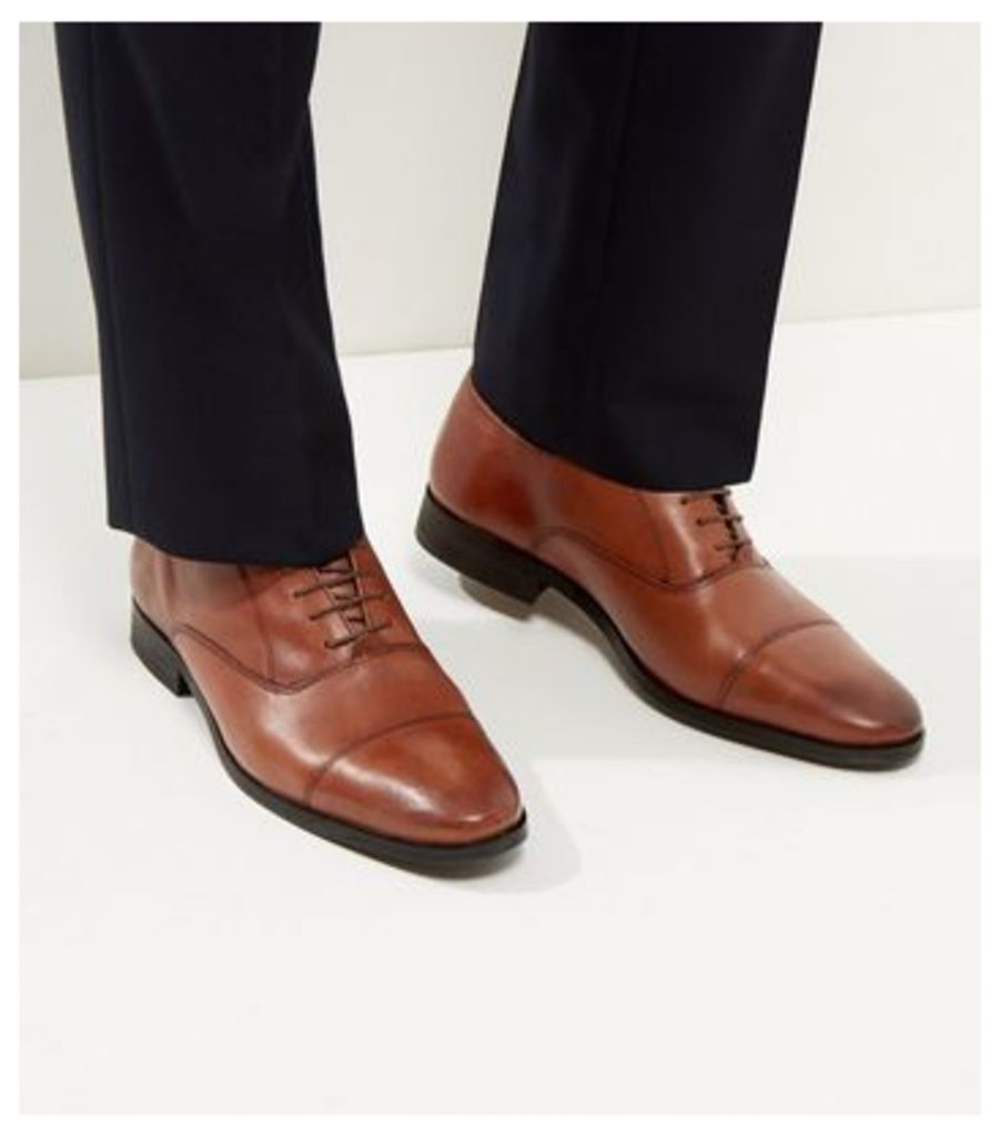 Brown Leather Lace Up Brogues