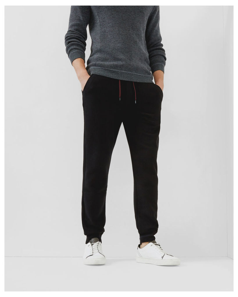 Ted Baker Jersey cuffed trousers Black