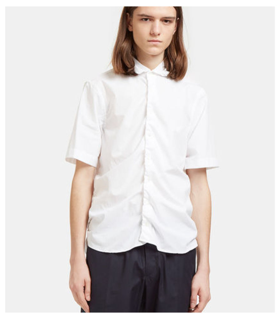Ruched Seam Short Sleeved Shirt