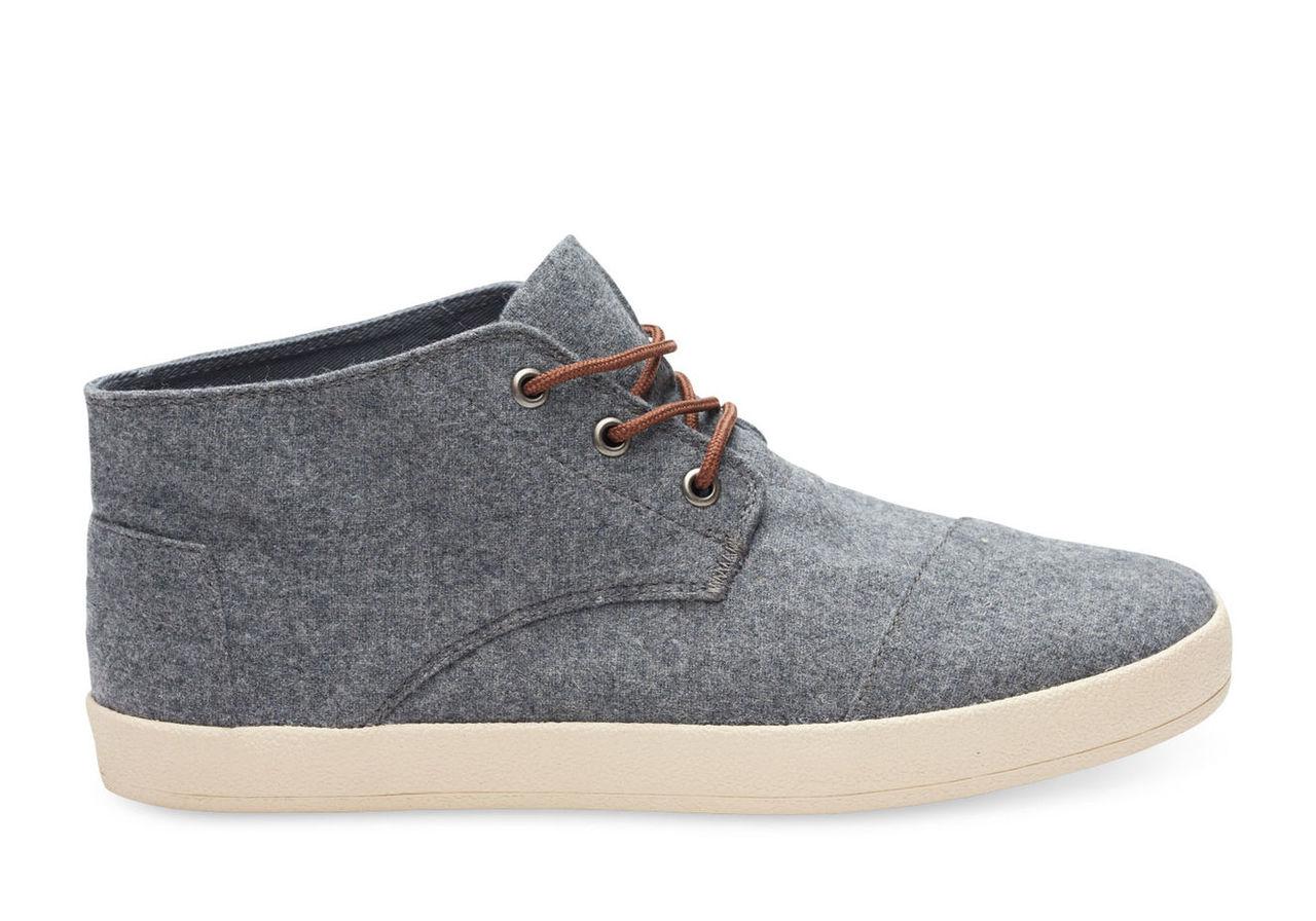 Castlerock Grey Wool Men's Paseo Mids