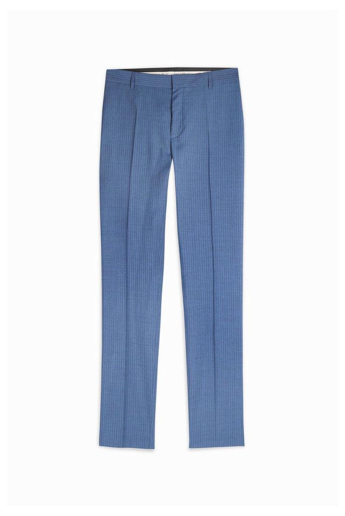 Paul Joe Men`s Mokeur Pinstripe Suit Trousers Boutique1