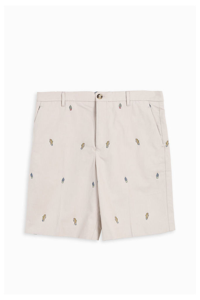 Kenzo Men`s Cartoon Tailored Shorts Boutique1