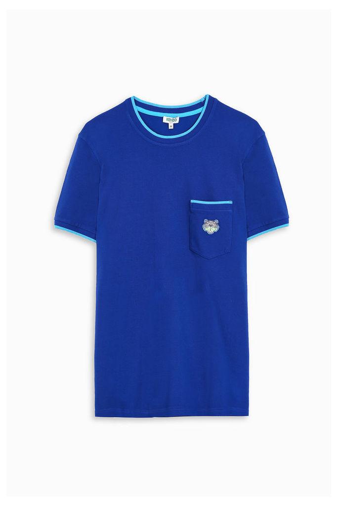 Kenzo Men`s Trim Pique T-shirt Boutique1