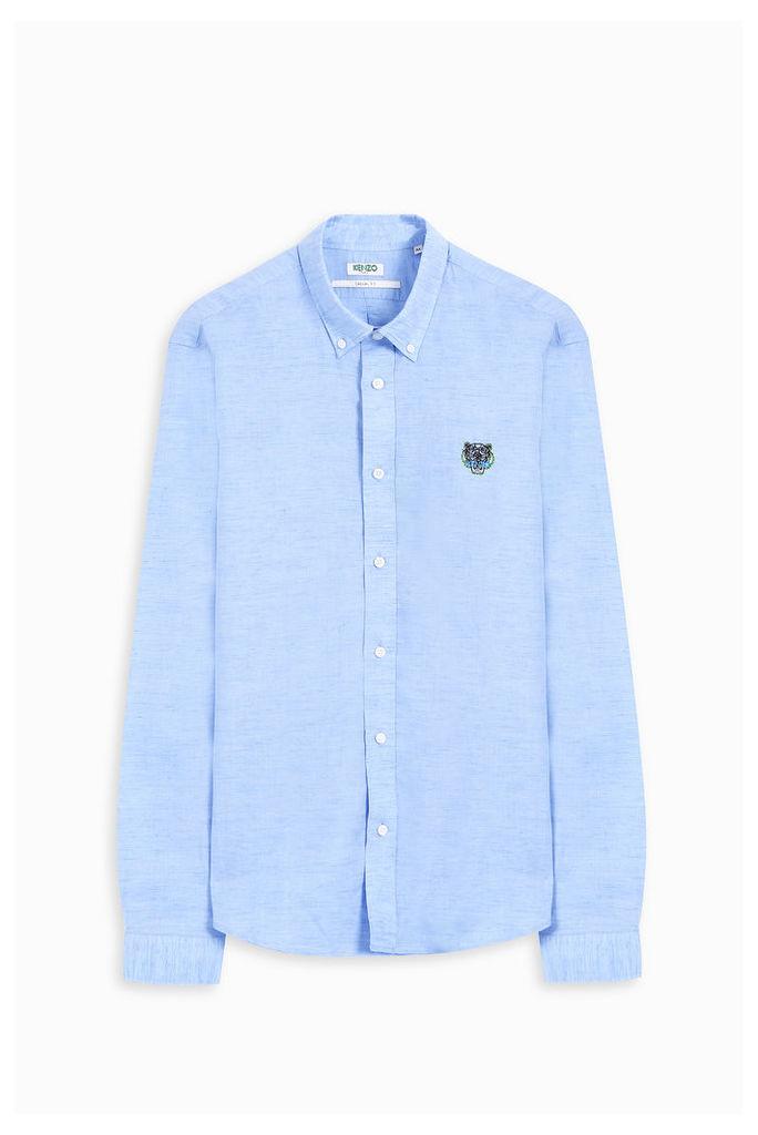 Kenzo Men`s Oxford Tiger Shirt Boutique1
