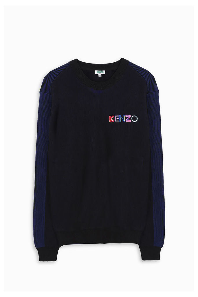 Kenzo Men`s Kenzo Ribbed Jumper Boutique1