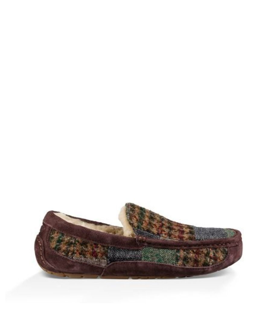UGG Ascot Patchwork Mens Slippers Patchwork 8