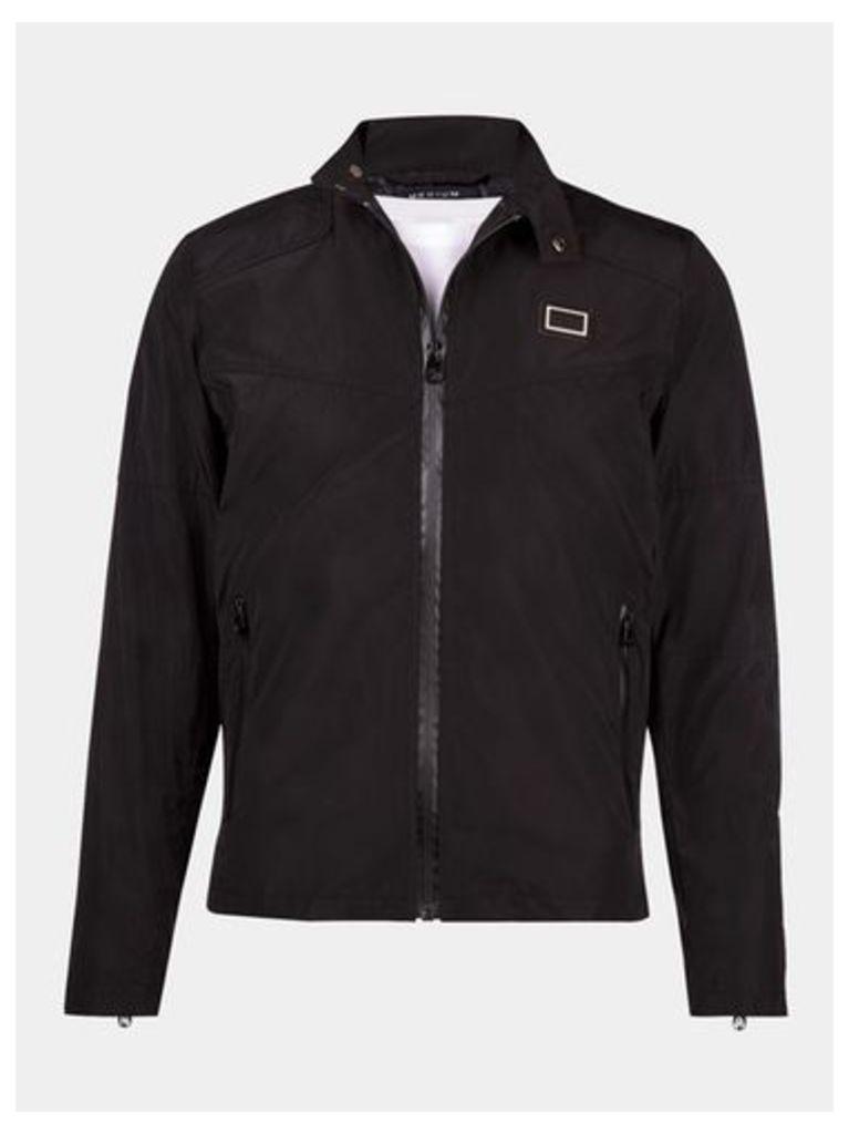 Mens Born Rich Black Biker Jacket*, Black