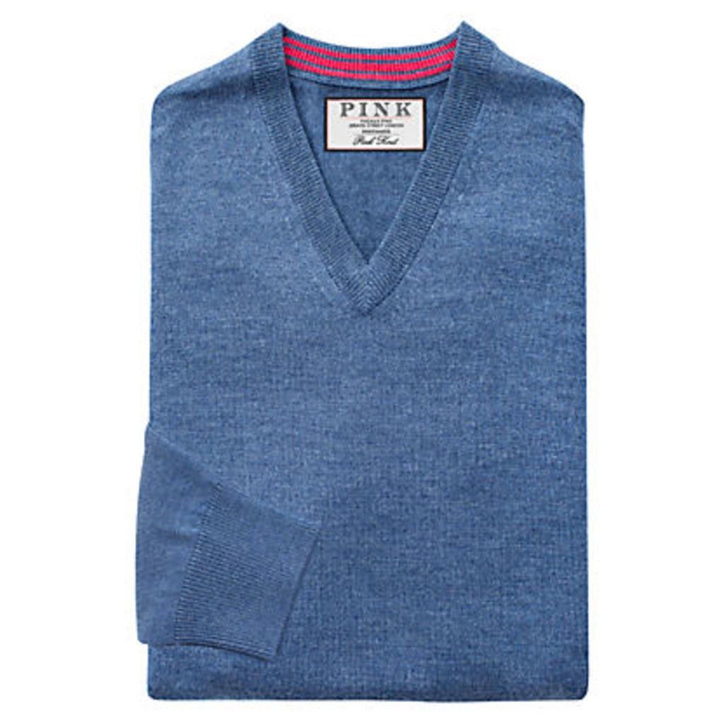 Thomas Pink Hawthorne Merino Wool Jumper