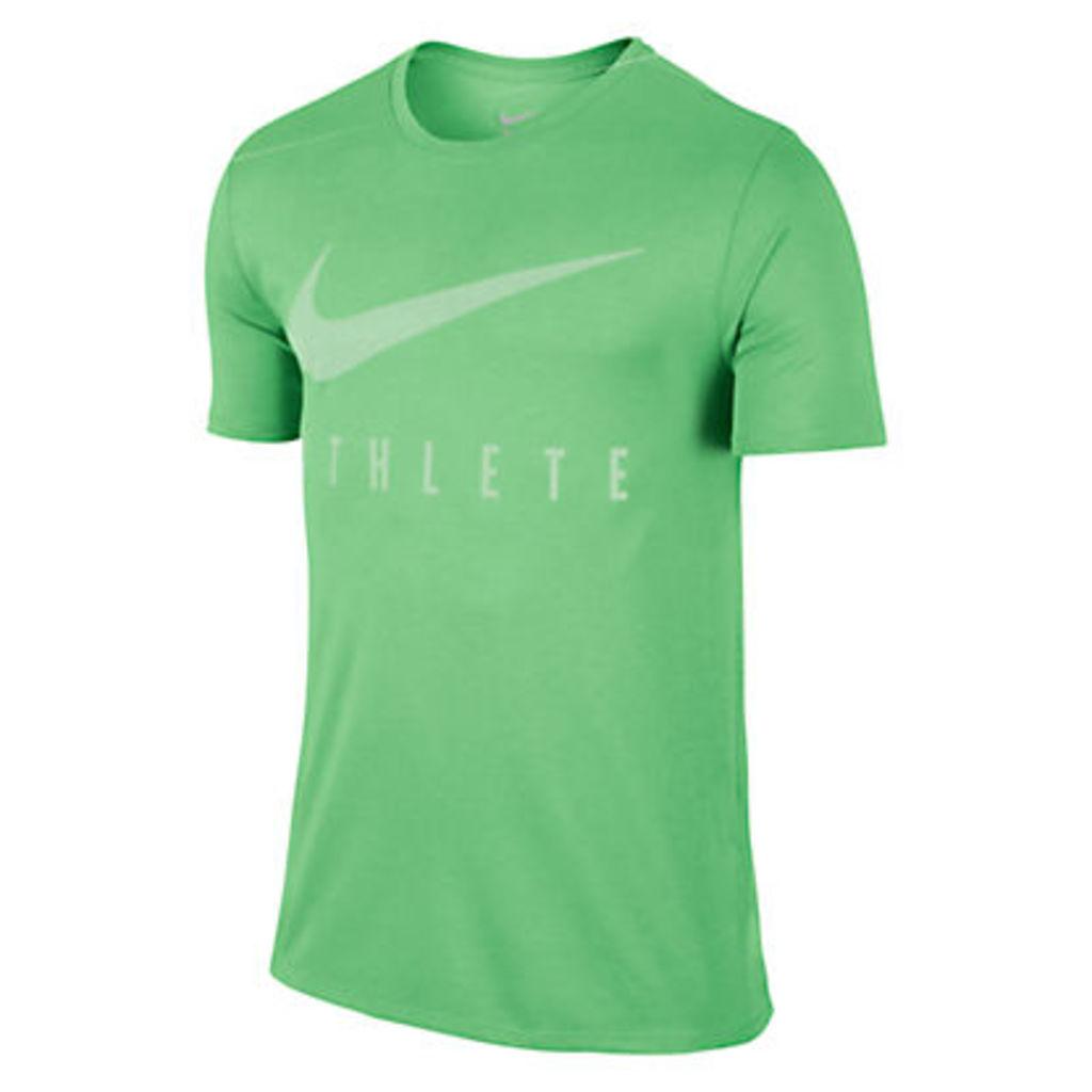 Nike Dry Athlete Training T-Shirt, Tourmaline/Fresh Mint