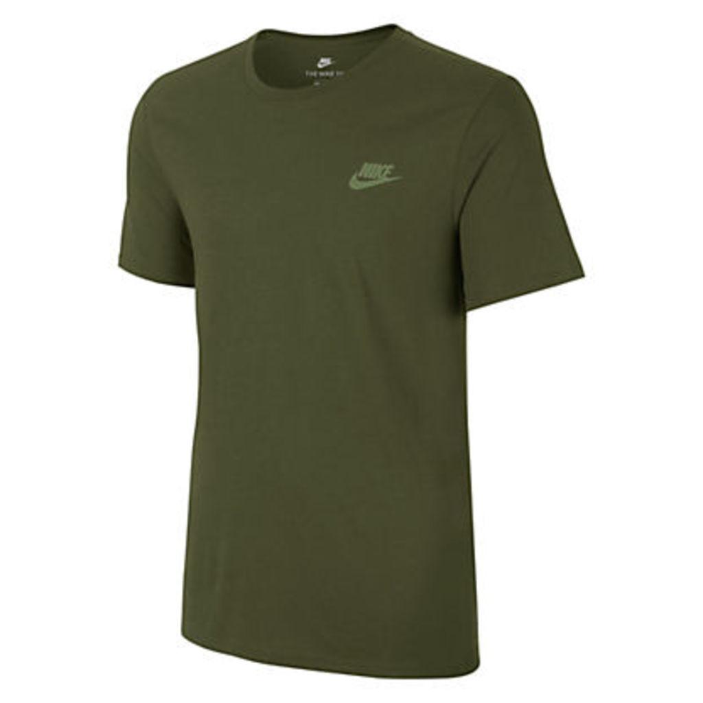 Nike Sportswear Cotton T-Shirt, Green