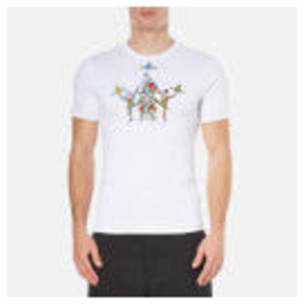Vivienne Westwood MAN Men's Tumblers T-Shirt - White - XL