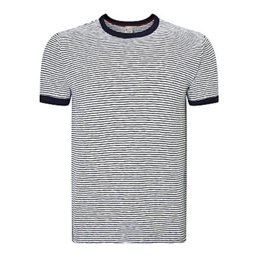 Champion + Todd Snyder Stripe Crew Neck T-Shirt