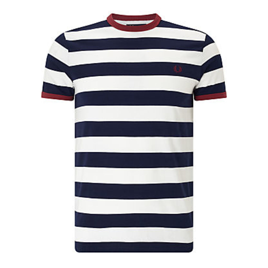 Fred Perry Sports Authentic Striped Ringer T-Shirt