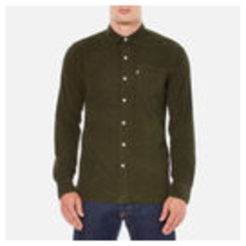 Levi's Men's Sunset 1 Pocket Shirt - Olive Night Melange - S