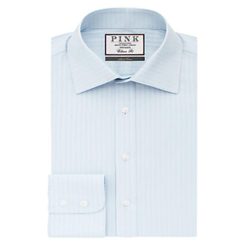 Thomas Pink Ackerman Texture Classic Fit XL Sleeve Shirt