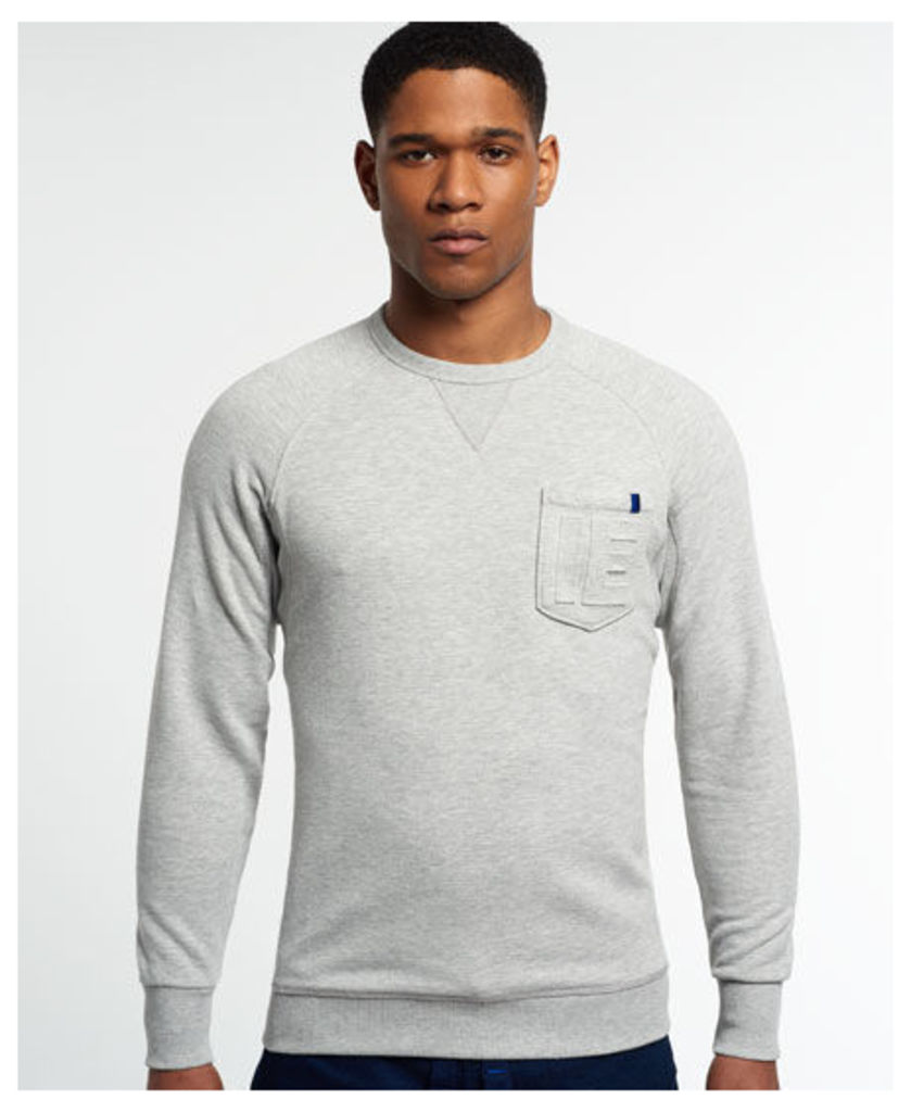 Superdry IE Runner Lite Pocket Crew Sweatshirt