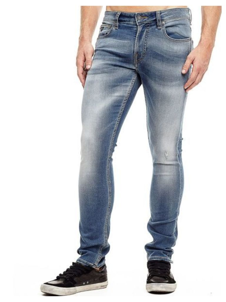 Guess Used-Look Flex Jeans