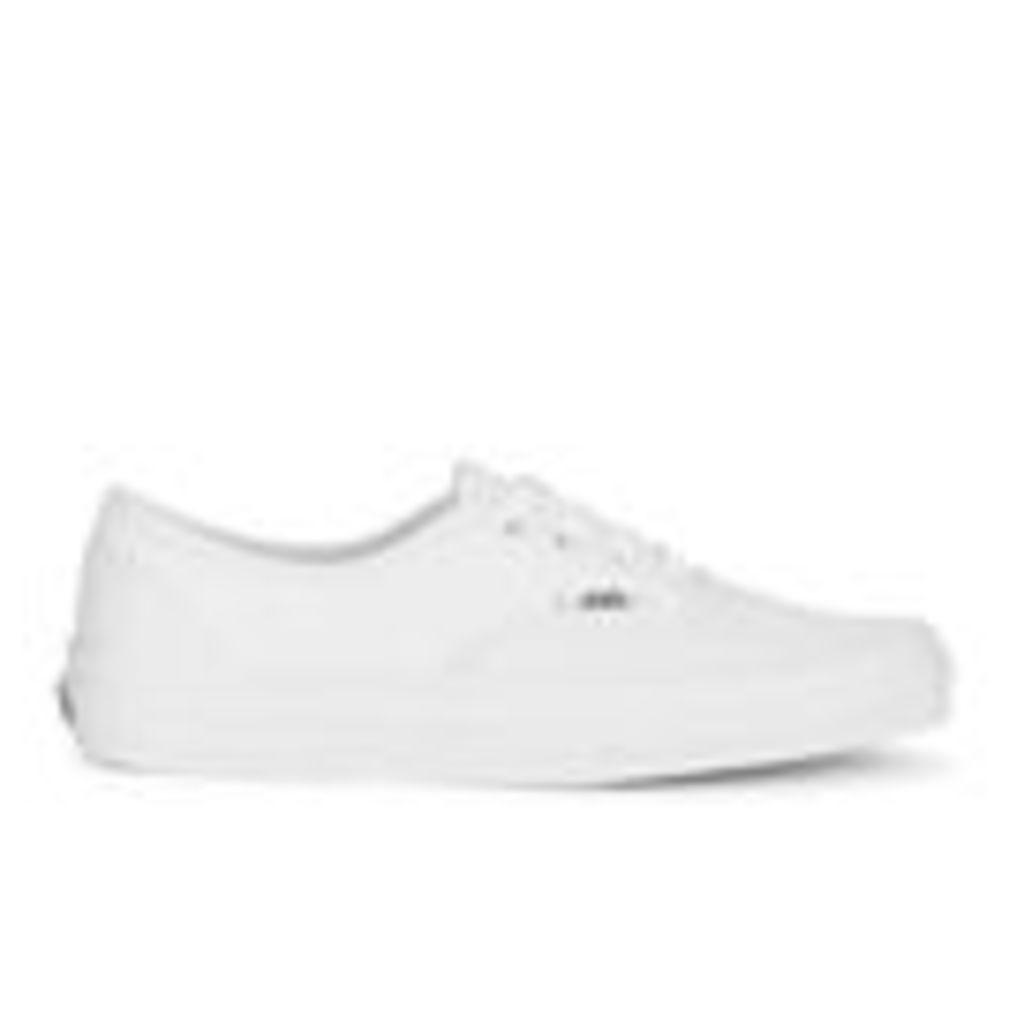 Vans Authentic Canvas Trainers - True White - UK 12