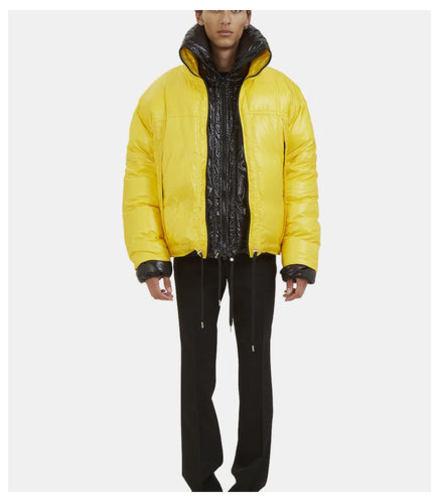 Double-Layered Down Quilted Jacket
