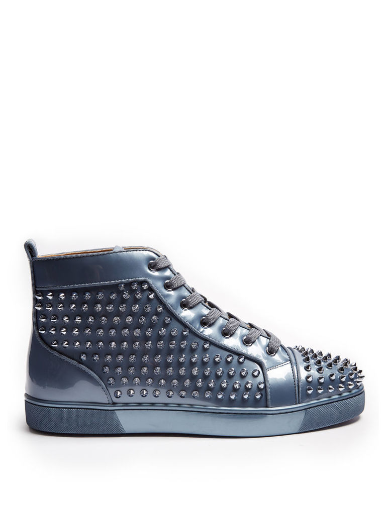 Louis Orlato spike-embellished high-top trainers