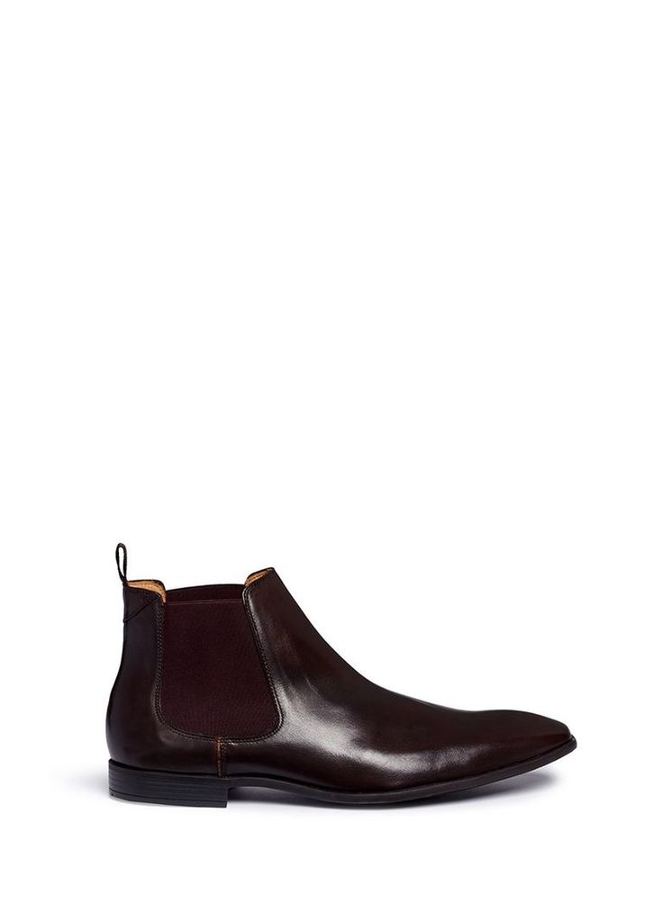 'Falconer' leather Chelsea boots