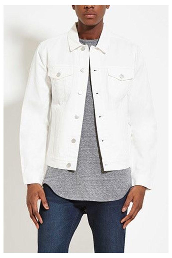 Buttoned Denim Jacket