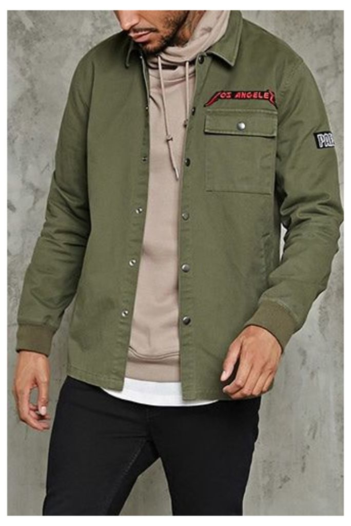 Los Angeles Patch Jacket