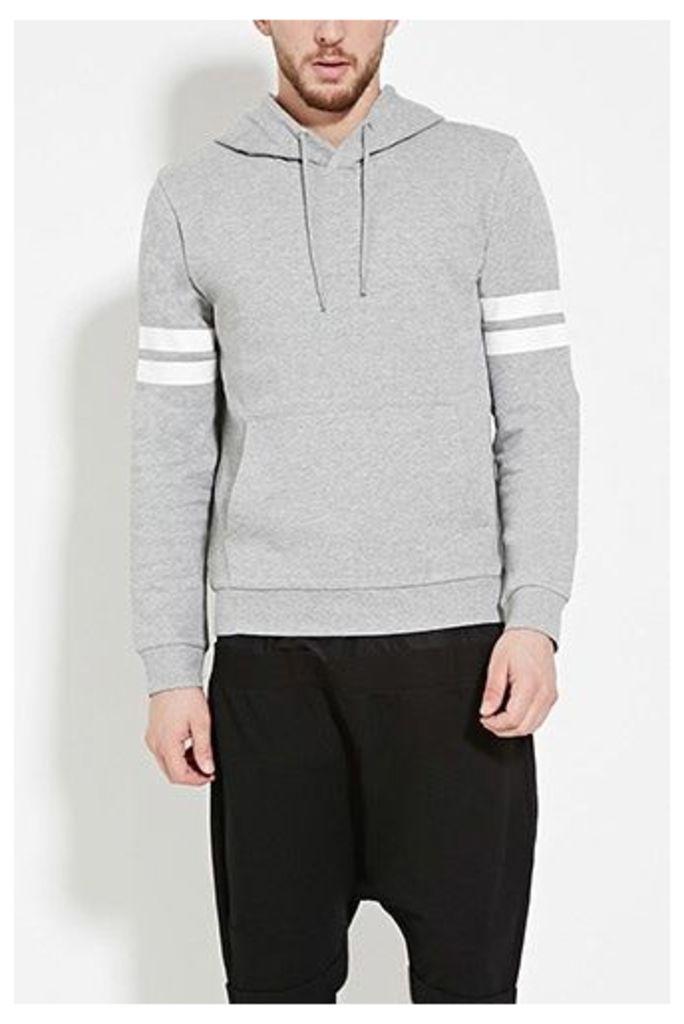 Varsity-Stripe Pullover