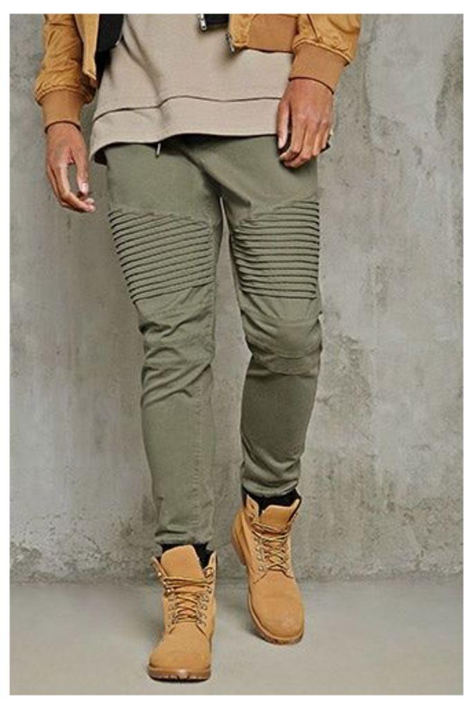 Moto Drawstring Trousers