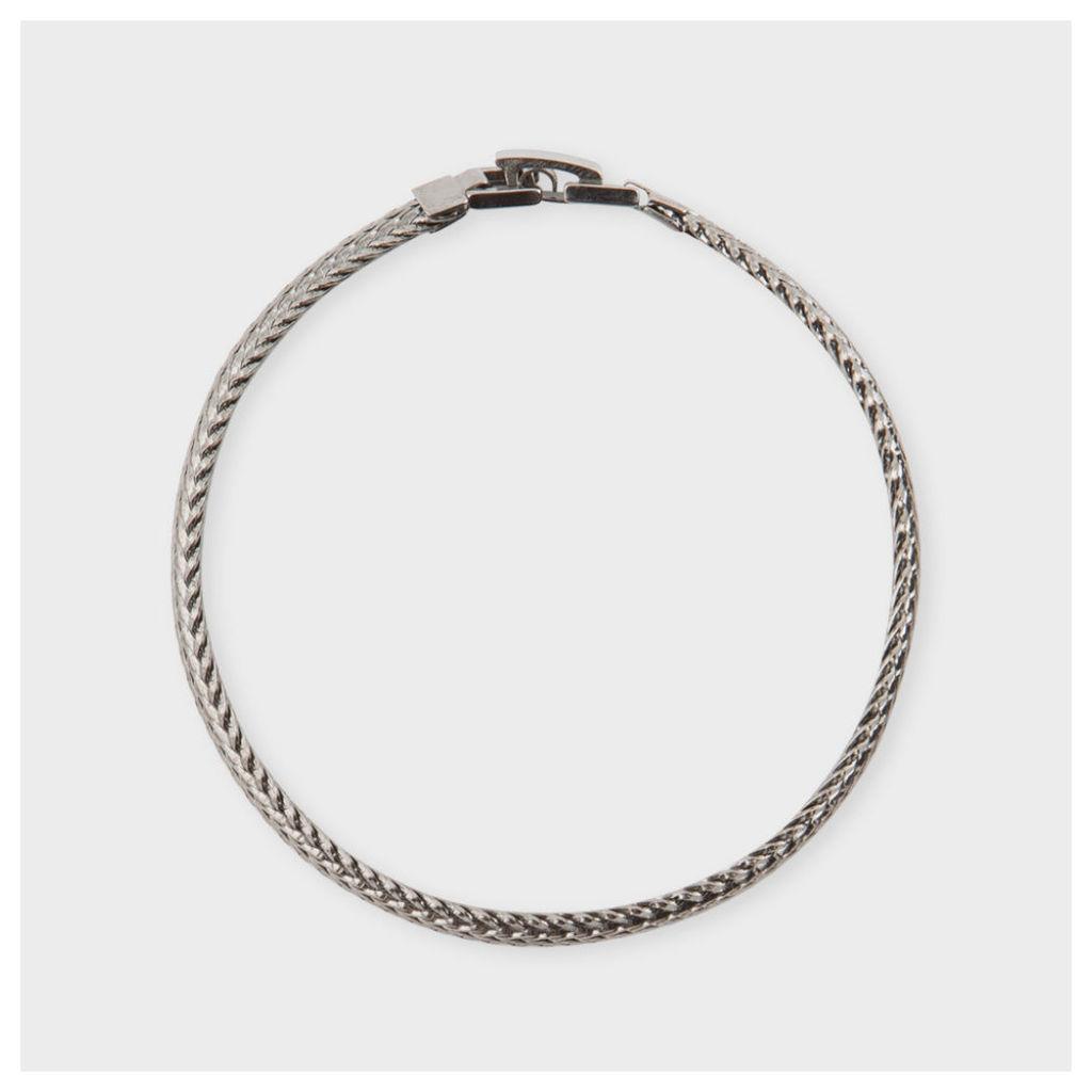 Men's Flat Gunmetal Bracelet