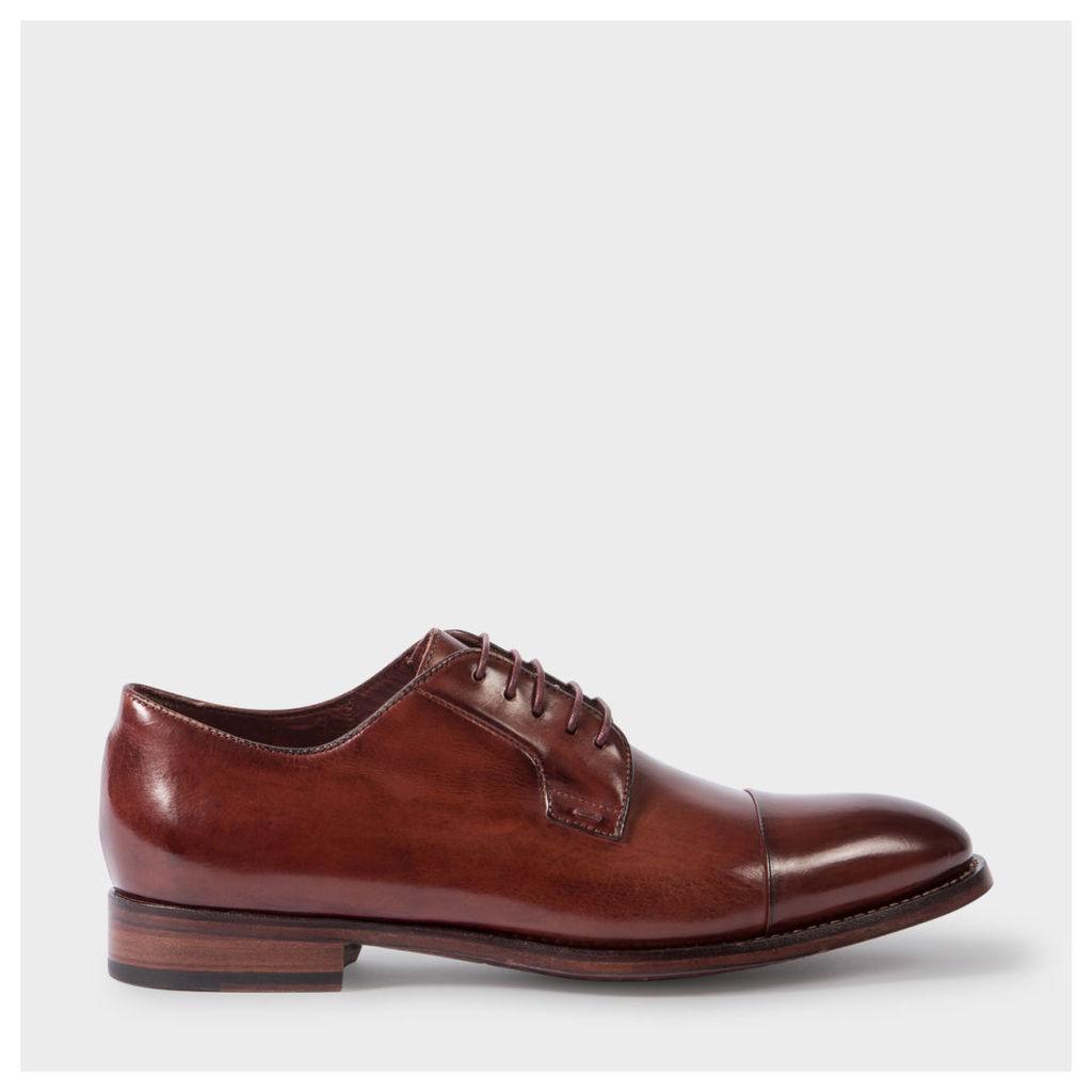 Men's Bordeaux Parma Calf Leather 'Ernest' Shoes