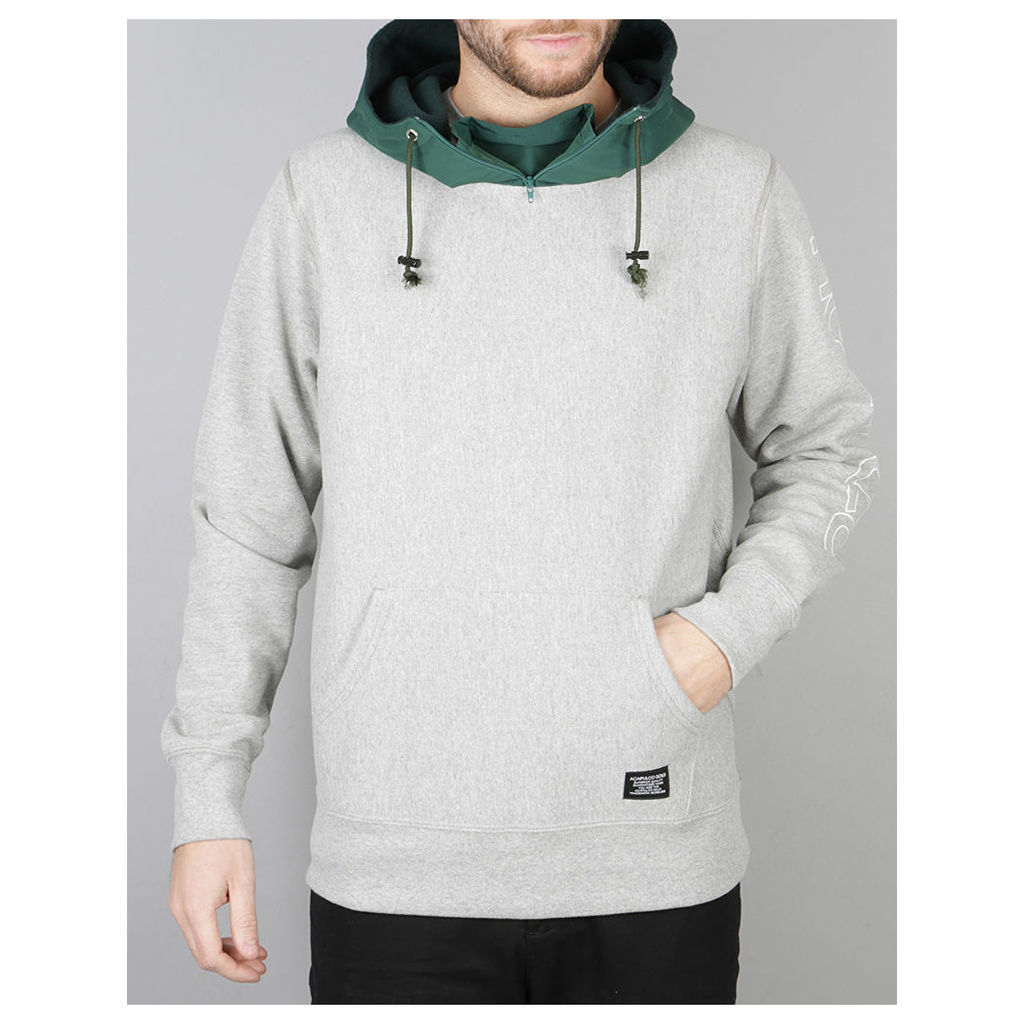 Acapulco Gold Alpine Pullover Hoodie - Heather Grey (S)