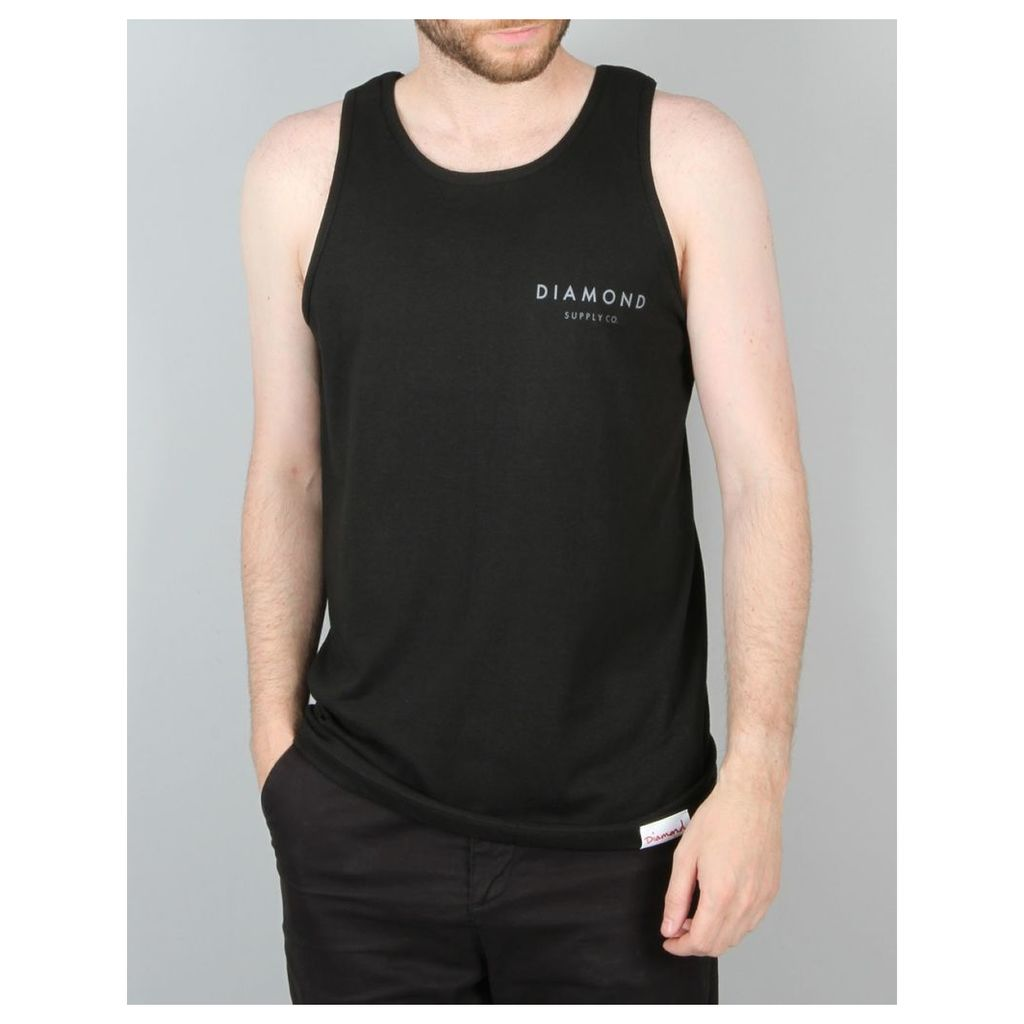 Diamond Supply Co. Yacht Type Tank Top - Black (L)