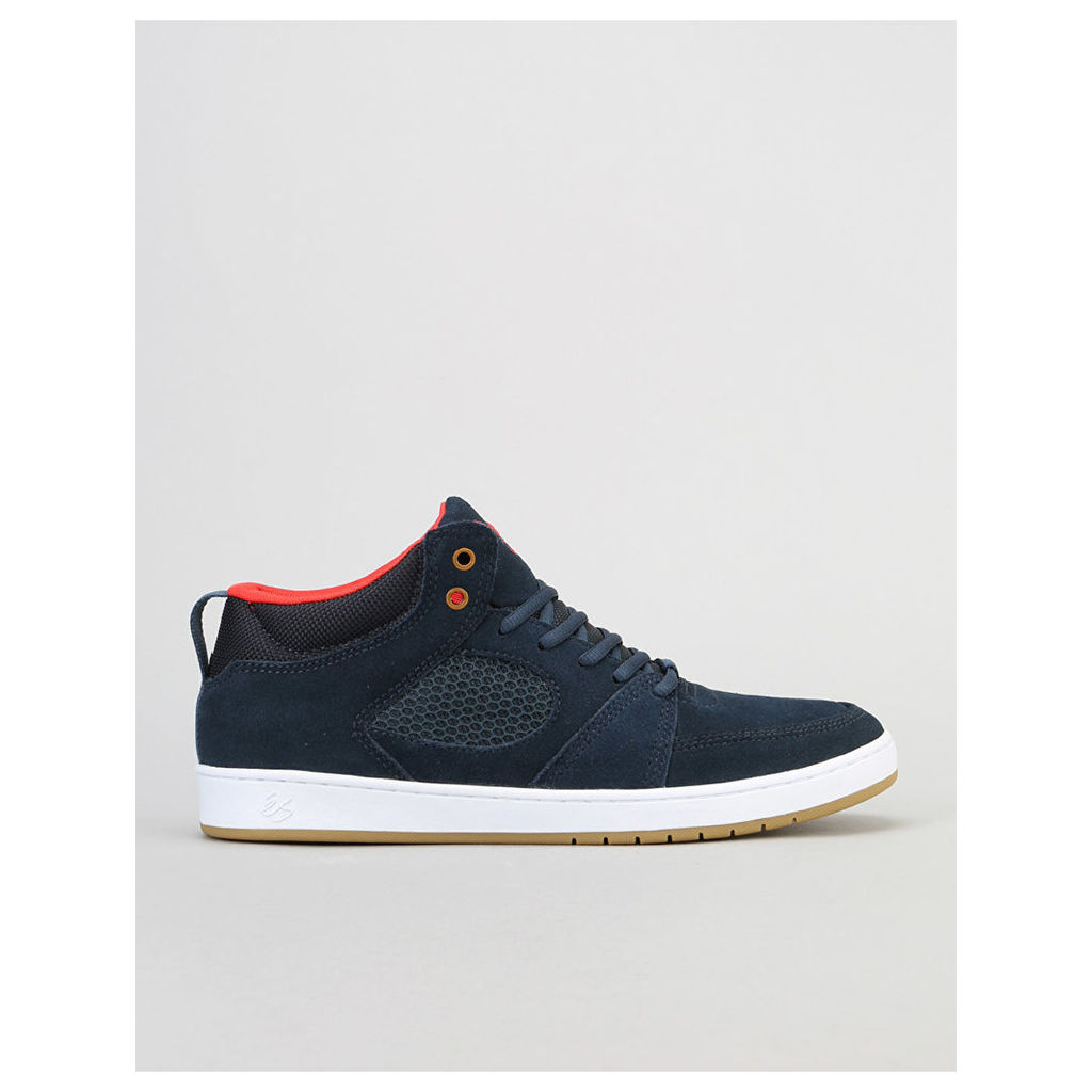 éS Accel Slim Mid Skate Shoe - Navy (UK 7)