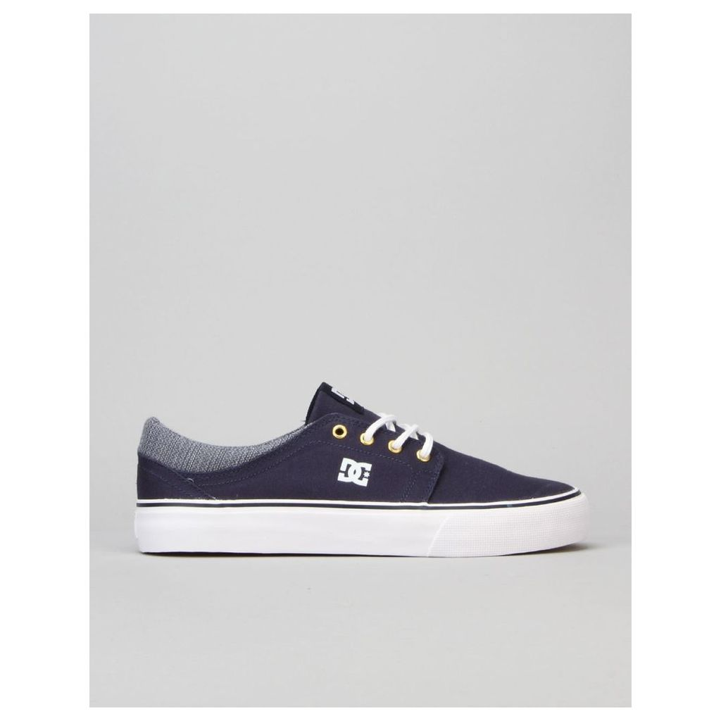 DC Trase TX SE Skate Shoes - Navy (UK 7)