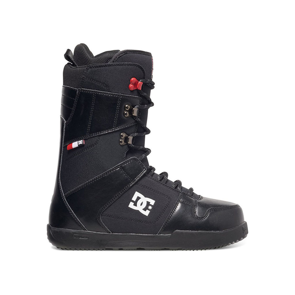 DC Phase 2017 Snowboard Boots - Black/Red (UK 8)