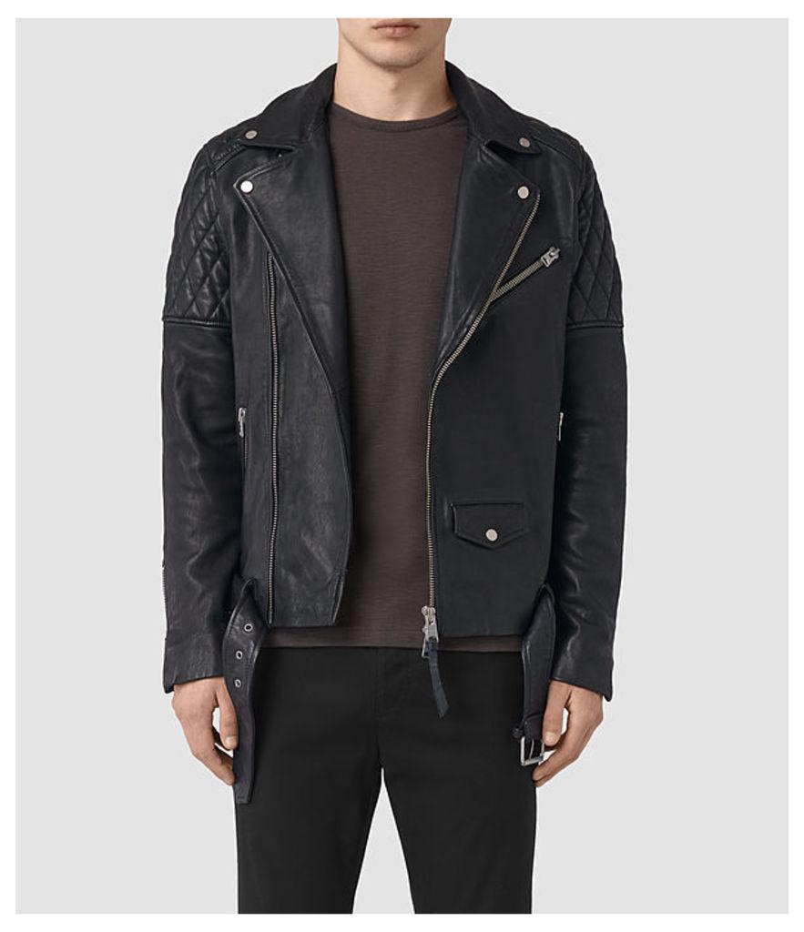 Boyson Leather Biker Jacket