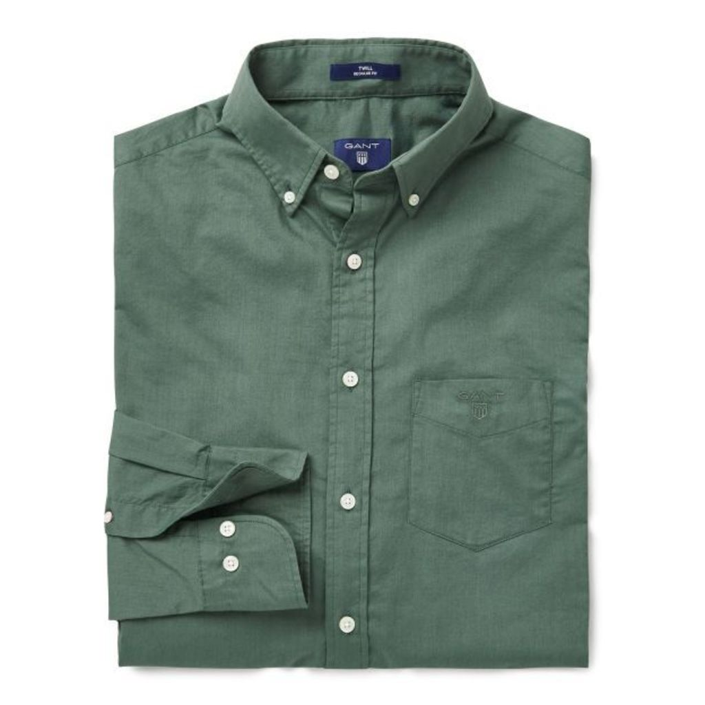 Weekend Twill Shirt - Nordic Forrest