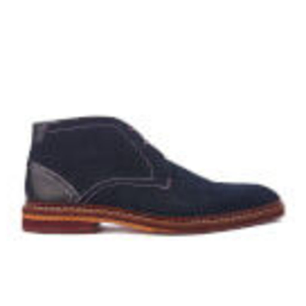 Ted Baker Men's Azzlan Suede Desert Boots - Dark Blue - UK 8