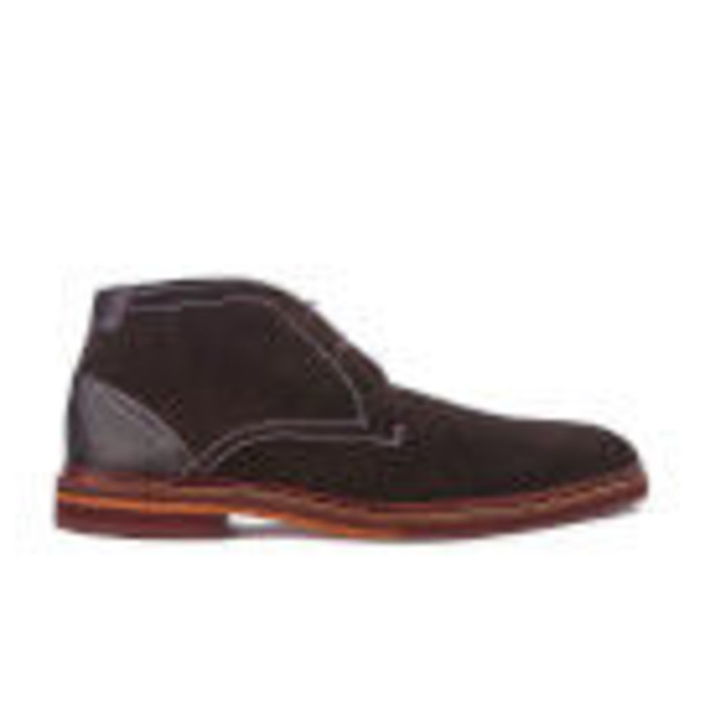 Ted Baker Men's Azzlan Suede Desert Boots - Brown - UK 11