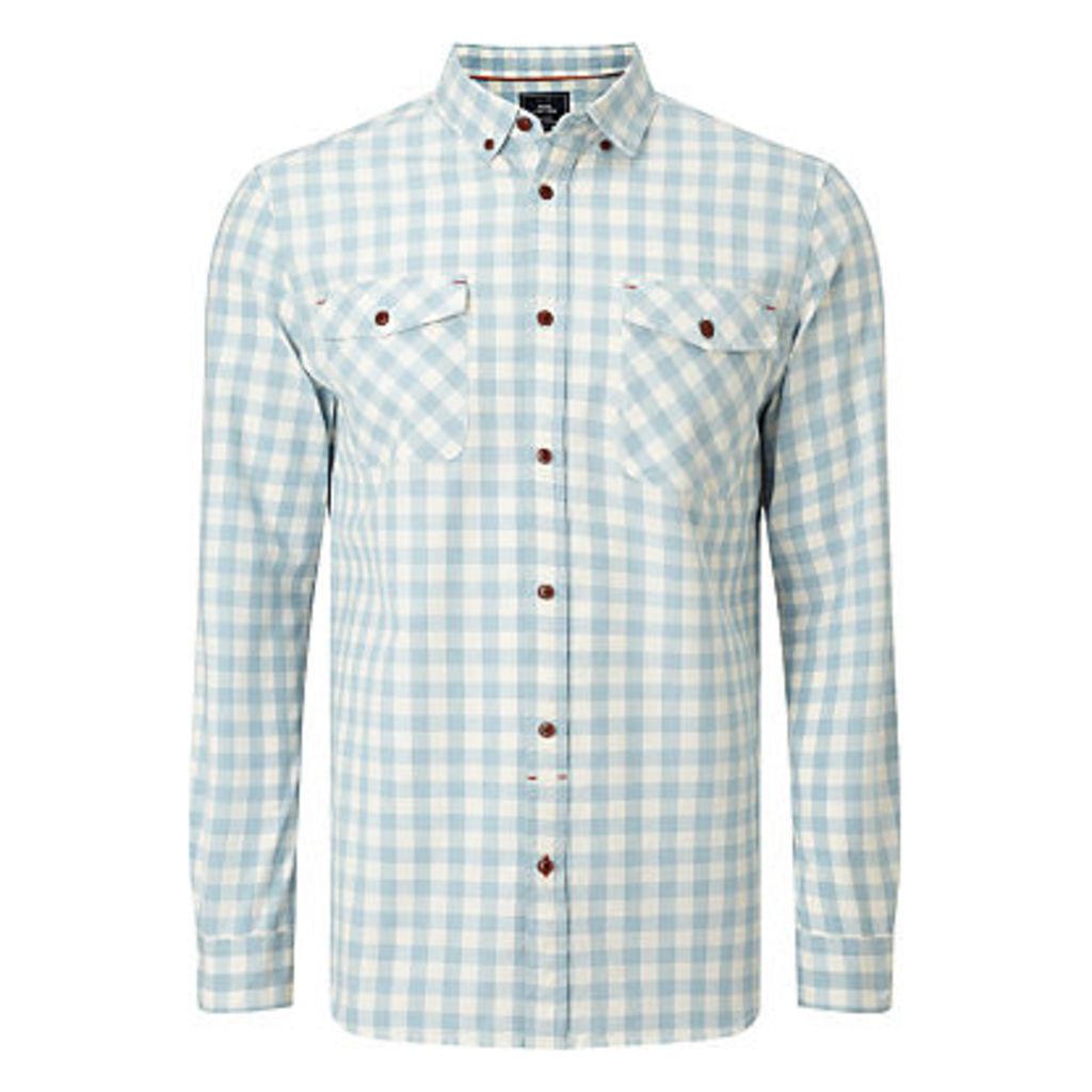 John Lewis Jaspe Gingham Shirt