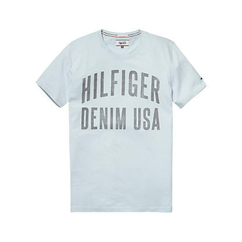 Hilfiger Denim Big Sports Logo Organic Cotton T-Shirt