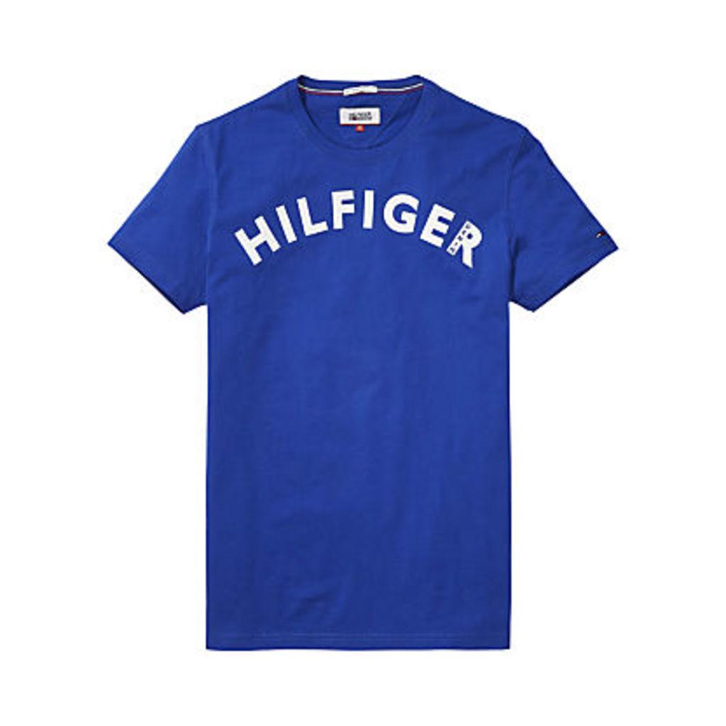 Hilfiger Denim Cotton Logo T-Shirt, True Blue