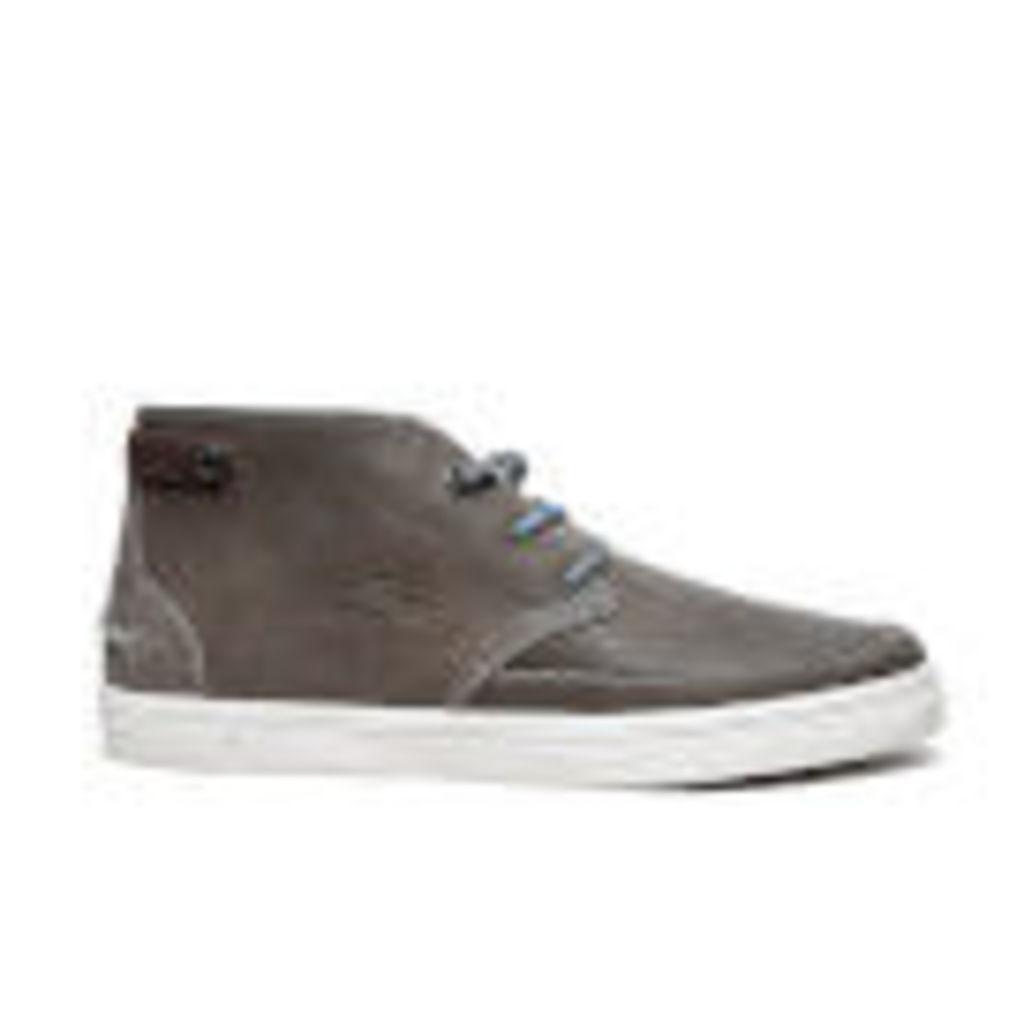 Lacoste Men's Clavel 18 Ap SRM Chukka Boots - Dark Grey - UK 9