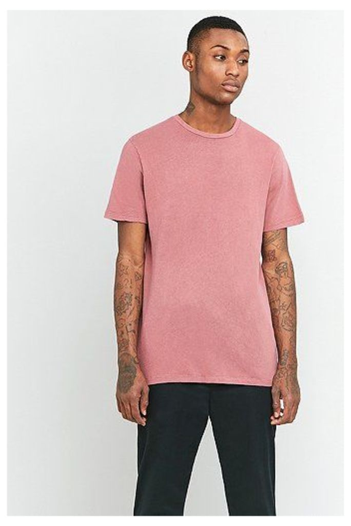 UO Oversized Washed Pink T-shirt, Pink