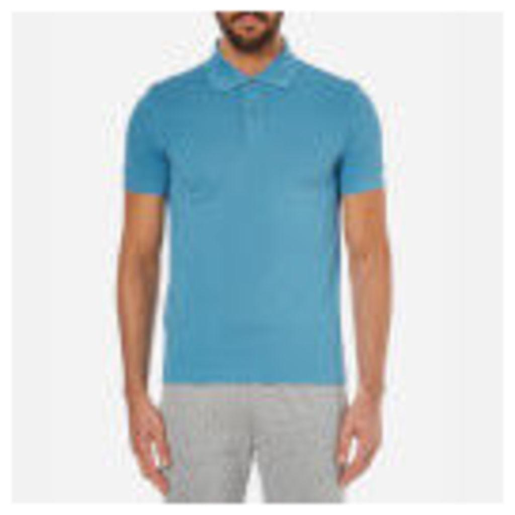BOSS Green Men's C-Firenze Small Logo Polo Shirt - Blue - M