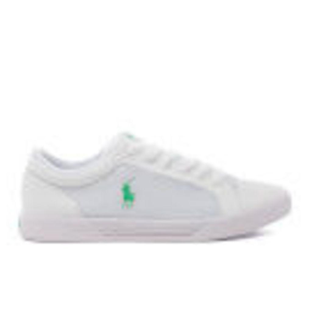 Polo Ralph Lauren Men's Huntley Trainers - White - UK 11