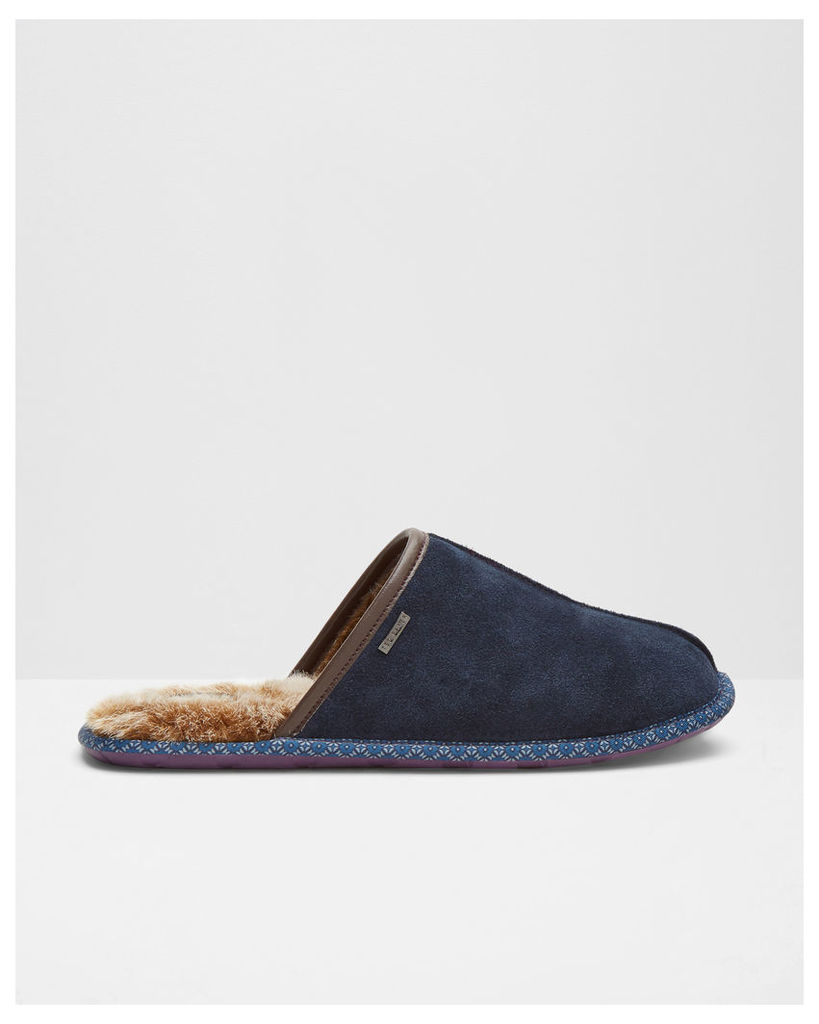Ted Baker Backless mule slippers Blue